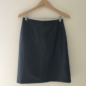 MIXIT Leather Pencil Skirt